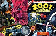 Superb in-depth examination of Jack Kirby's comic book adaptation of 2001: A Space Odyssey.