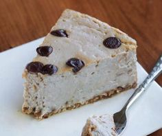 Tofu Recipes: Cappuccino Cloud Cheesecake