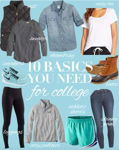 charlotte {b} harris | a new england-based lifestyle blog: 10 Basics You Need for College