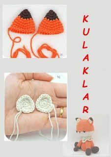 TİLKİ MİLO Crochet Toys, Crochet Baby, Octopus Crochet Pattern, Personal Development Books, Handmade Toys, Free Pattern, Diy And Crafts, Crochet Earrings, Knitting