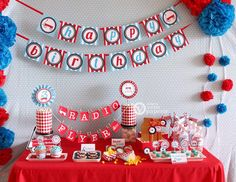 Radio Flyer Red Wagon Party Package Personalized FULL Collection Set - PRINTABLE DIY - PS817CA1x via Etsy