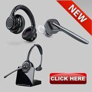 Buy Headsets Online | Plantronics, Jabra and Sennheiser Headphones