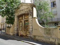 Remains of Hôtel Raoul, 6 Rue Beautreillis, Paris 4e