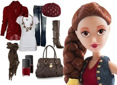 How do you like Teen #Belle's new #fall outfit?