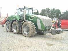 FENDT TRISIX Big Tractors, Germany, Deutsch