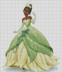 [Disney Princess] Tiana by RoseXinh
