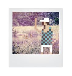 Pixels and Polaroids Mixed Media Photo Concept | Trendland: Fashion Blog & Trend Magazine