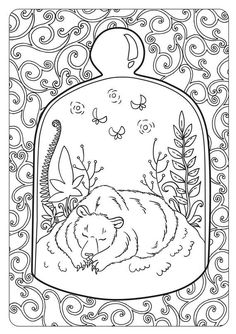 The Tales Of Old Forest Anti Stress Coloring Book By Maria Letta