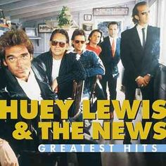 Huey Lewis & the News-saw them at The Pier in Raleigh, 1982, before they were rich and famous!