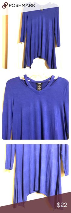 Cold Shoulder Sharkbite Top Soft, comfy, & trendy! This top is perfect for any occasion! Tops