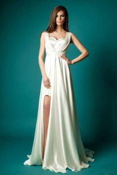 Pregnant Prom Dresses Simple Sweetheart Neckline Long Prom Dresses 2016 Satin Sleeveless With Side Split A Line Sweep Train Zipper Evening Party Dress Gowns Hot One Of A Kind Prom Dresses From Weddingdressesonline, $124.28| Dhgate.Com