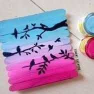 Image result for popsicle stick art project sculptures middle school