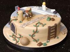 Lego Indiana Jones Cake