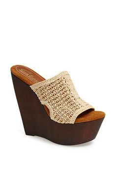 Sbicca 'Tahiti' Wedge Sandal available at #Nordstrom