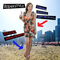 △The 7th Daily Look▽ Hot summer closet <<  #summer_in_korea #Busan_hot_style #Busan_fashion #vacation_style #summer_dress #summer_onepeace #summer swimwear . . www.okdgg.com  :The only place to meet over 2,000 Korean shopping malls at once