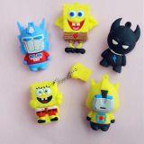 Customized USB Flash Drive Coat PVC USB Spongebob Squarepants 256GB#usbflashcard #usbflashdrivedeals #penflashdrive #usb16gbflashdrive #usbsticksforsale