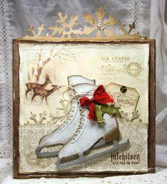 Anne's paper fun: Christmas Card with Ice Skates http://annespaperfun-aksh.blogspot.com/2013/10/christmas-card-with-ice-skates.html