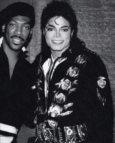 Eddie Murphy and MJ
