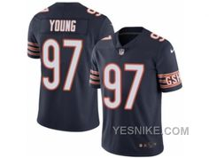 http://www.yesnike.com/big-discount-66-off-mens-nike-chicago-bears-97-willie-young-elite-navy-blue-rush-nfl-jersey.html BIG DISCOUNT ! 66% OFF ! MEN'S NIKE CHICAGO BEARS #97 WILLIE YOUNG ELITE NAVY BLUE RUSH NFL JERSEY Only $26.00 , Free Shipping!
