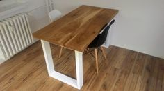 Furniture wood industry table