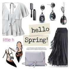 """""""Hello Spring by Little h Jewelry"""" by littlehjewelry ❤ liked on Polyvore featuring Miss Selfridge, Alexandra de Curtis and Bobbi Brown Cosmetics"""