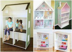 A casa de bonecas é um sonho para muitas crianças, é uma forma de inventar histórias e aventuras dando largas à sua imaginação. Para meninas ou meninos est