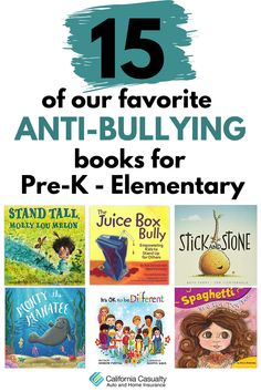our favorite anti-bullying books that are perfect for kids in Pre-K through early elementary school. Bullying Stories, Bullying Posters, Books About Bullying, Bullying Activities, Mean Jean, Book Character Day, Anti Bullying, Conflict Resolution, Funny Stories