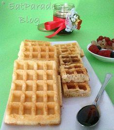 Waffles morbidi all'anice - EatParade Blog