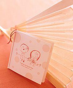 Wedding Program Fan Template Free | You can make a fan wedding program template in any shape you want.