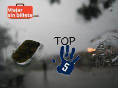 Top 5 Lugares humedos del Mundo