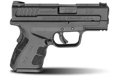 """Ideal for concealed carry, this XD Mod.2™ 3.3"""" sub-compact .45ACP handgun is ergonomic and slim. View this pistol and others in the XD Mod.2™ series here."""