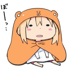 Umaru-chan Chibi' Sticker by xiaokoong Manga Anime, Me Anime, Kawaii Anime, Anime Demon, Umaru Chan Gif, Himouto Umaru Chan, Otaku, Anime Meme Face, Animes Wallpapers