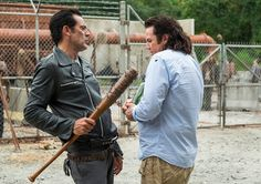 Episode 11 of AMC's The Walking Dead Season 7 featured a character not seen since the mid-season finale. But, how will Eugene cope with Negan's group? Walking Dead Season 8, Rick And Michonne, Tv Reviews, New Clip, Carl Grimes, Film Serie, Daryl Dixon, Season 7, In This Moment