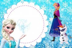 35 Convites Frozen: Diferentes, Simples, Personalizados