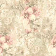 Pergoda Pink Floral Texture 414-54231 wallpaper