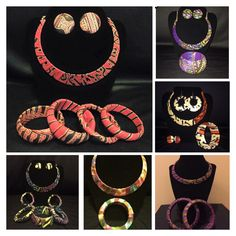 Jewellery sets available for purchase from RNB Ghanaian Fashions.  Shop: www.rnbghanaianfashions.etsy.com