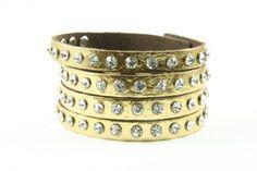 Bratara din piele Fashion gold   Wo-Men.ro Gold Fashion, Bracelets, Jewelry, Women, Jewlery, Jewerly, Schmuck, Jewels, Jewelery
