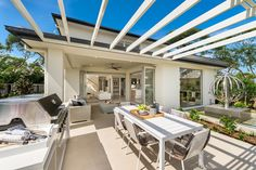 Barossa Two storey home - The entry carries you through the home into a picturesque central living hub complete with lavish Gourmet Kitchen and generous Family and Living areas that seamlessly connect with an outdoor Alfresco. #mcdonaldjones #mcdonaldjoneshomes #alfresco #twostoreyhome #outdoorliving