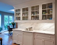 View this Great Kitchen by distinctivekitchens. Discover & browse thousands of other home design ideas on Zillow Digs. Kitchen Buffet, Country Kitchen, Kitchen Cabinets, Kitchen White, Kitchen Ideas, L Shaped Kitchen, Kitchen Tops, Custom Cabinetry, French Country Decorating