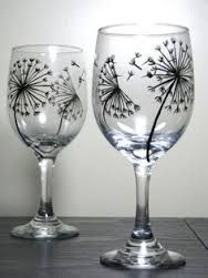 Image result for painting on glasses