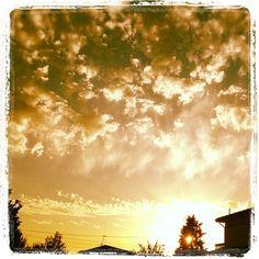 """@mauroparolo's photo: """"#ig #instamood #iphone #sunset"""""""