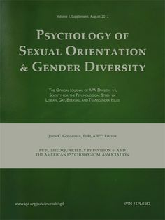 Psychology of Sexual Orientation and Gender Diversity [recurs electrònic] Washington : Educational Publishing Foundation 2013-