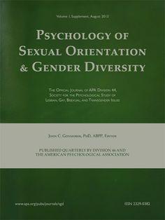 Psychology of Sexual Orientation and Gender Diversity [recurs electrònic] Washington : Educational Publishing Foundation 2013-