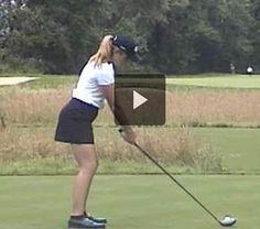 Supreme Golf Pro Tips How to Chip a Golf Ball Ideas. Spectacular Golf Pro Tips How to Chip a Golf Ball Ideas. Paula Creamer, Tips And Tricks, Slow Motion Golf Swing, Lpga Tour, Golf Club Grips, Golf Videos, Golf Tour, Golf Drivers, Golf Instruction