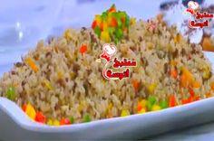 وصفة أرز بالليمون واللحمة المفرومة من برنامج على قد الايد حلقة اليوم (21-11-2015) ~ مطبخ أتوسه على قد الايد