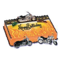Make Harley Davidson Cake for the loved one in your family who loves Harley Davidson Motorcycles! these Harley Davidson Cake will be the life of the party for your loved one! I hope you enjoy these Harley Davidson Cakes! The Harley Davidson Cake. Torta Harley Davidson, Harley Davidson Birthday, Motorcycle Party, Motorcycle Birthday, Biker Birthday, Motorbike Cake, Pirate Birthday, Dad Cake, Cake Decorating Kits