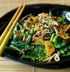 Tamari and Sesame Vegetables