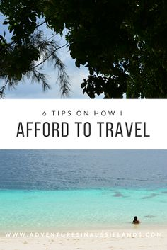 Simple steps I take to save heaps of money for lots of world travels.