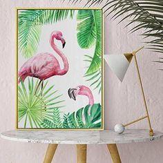 Summer Forever _ Make it last with Wall Prints - #summervibes #wallart #flamingo #pineapple _ Flamingo's and Pineapples _ L Decor https://ellebylizelleshop.com