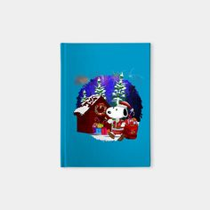 Santa at the dog world Notebook #notebook #book #note #teepublic #santa #santaclaus #christmas #blackfriday #mickeymouse #donaldduck #videogames #cat #mouse #mickeymouseclub #doctorwho #halloween #davidtennant #10thdoctor #fog #mist #tardis #dog #snoopydog